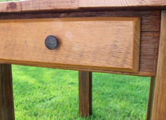 Farm House Table from Reclaimed Lumber