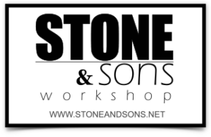 Stone and Sons Workshop sticker