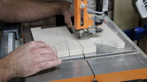 Knock Down Stool - cutting arch